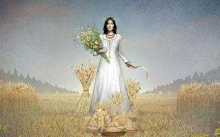 Славянская богиня Кострома. Поверья и атрибутика