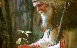 Легенды, атрибуты и символы бога Вышеня в мифологии славян
