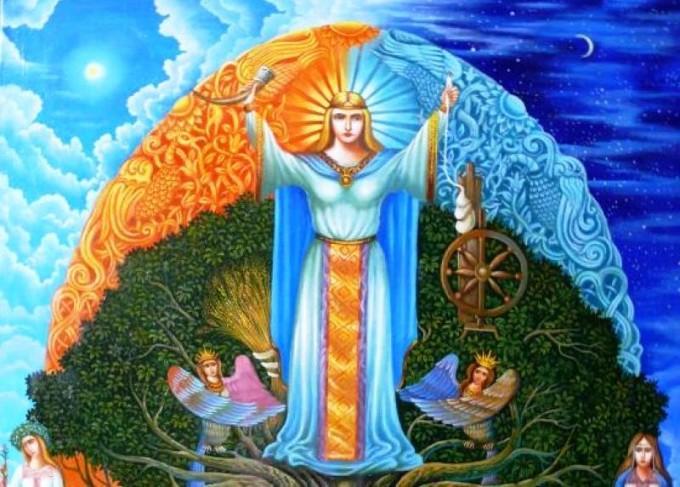 Богиня Макошь оберег для любой женщины